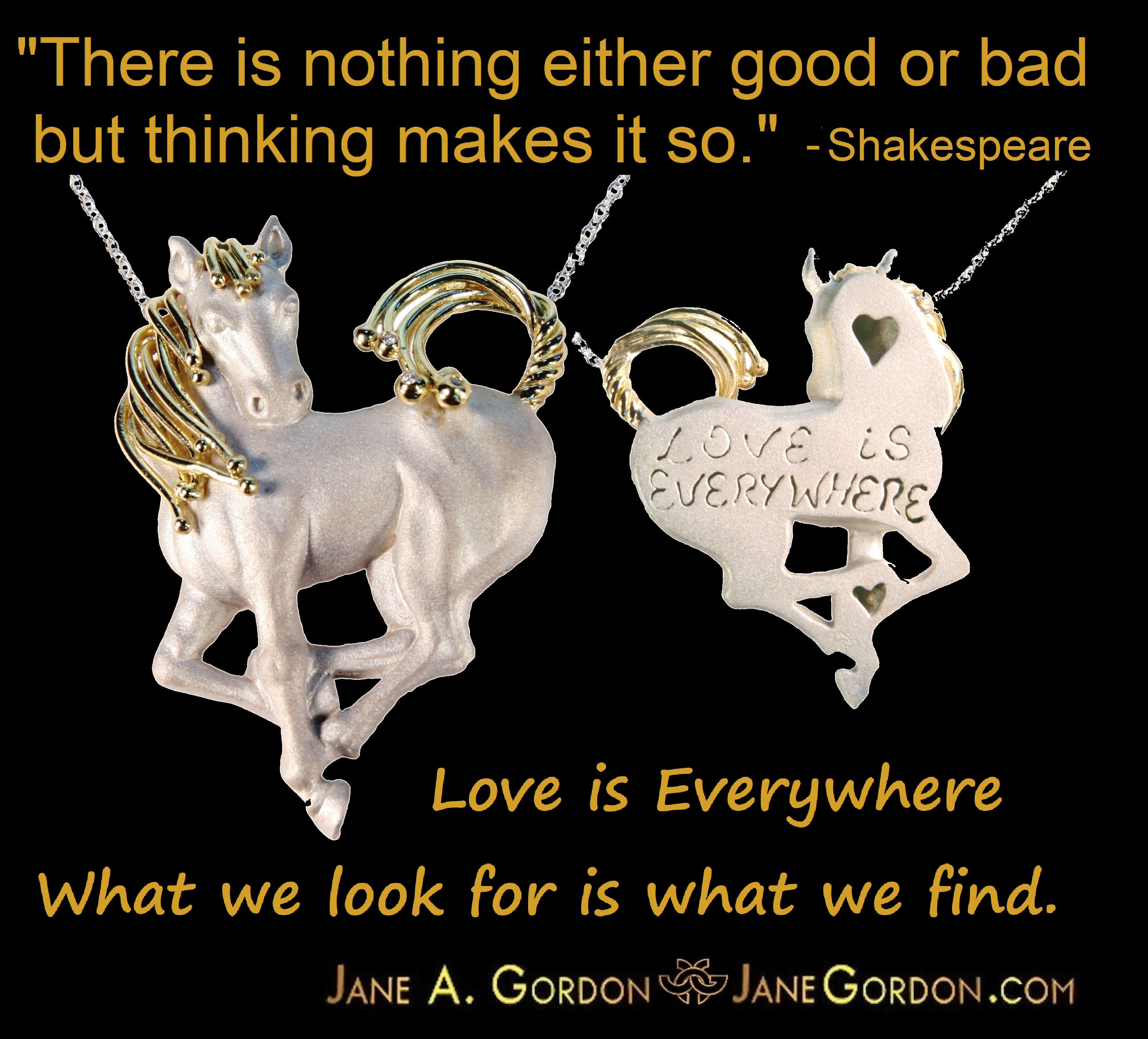 Equestrian Heart Horse: Love is Everywhere